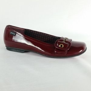 Camper 37/6 Red Slip On Patent Leather Flats S1-20